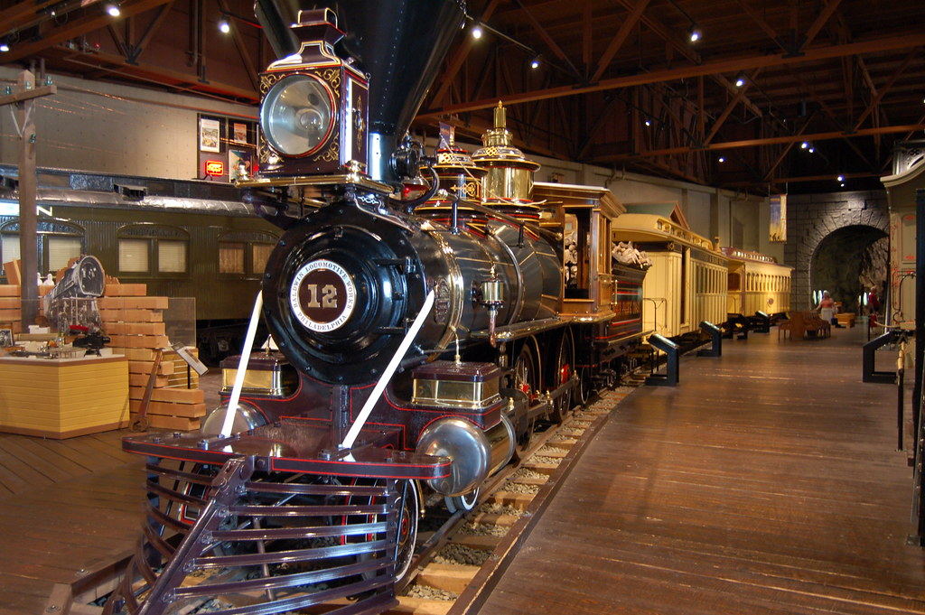 A picture of Railroad Museum in California.